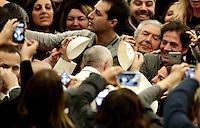 20170105 VATICANO: UDIENZA  DI PAPA FRANCESCO AI TERREMOTATI DEL CENTRO ITALIA