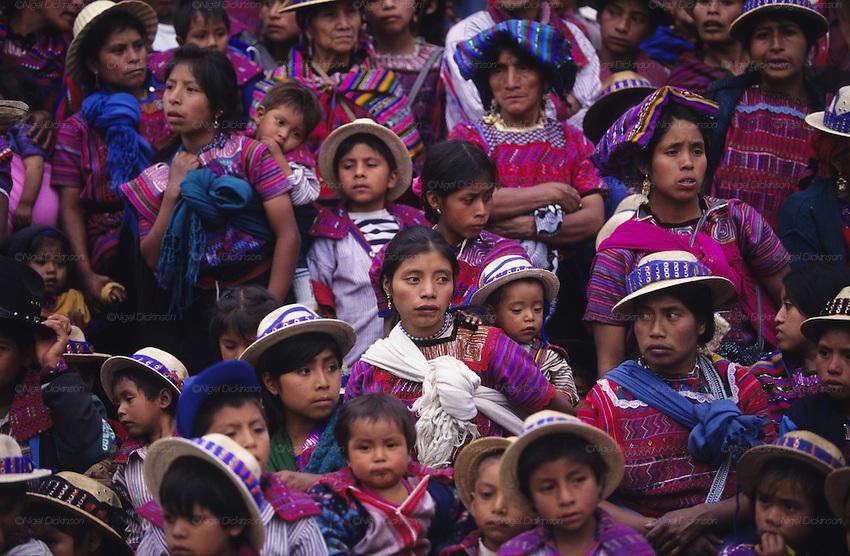 18 >> Mayan indians watch dancing, Todos Santos horse race and indigenous Mayan festival, All Saints ...