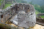 Americas, South America, Peru, Machu PIcchu. The ancient citadel of Machu Picchu, a UNESCO World Heritage Site.