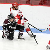Courtney Turner (Union - 3), Kaleigh Fratkin (BU - 13) - The Boston University Terriers defeated the visiting Union College Dutchwomen 6-2 on Saturday, December 13, 2012, at Walter Brown Arena in Boston, Massachusetts.