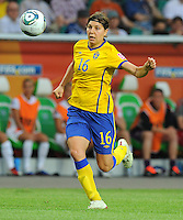 Linda Forsberg of team Sweden during the FIFA Women's World Cup at the FIFA Stadium in Wolfsburg, Germany on July 6thd, 2011.