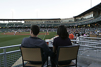 April 09, 2011:  during an MILB between the Columbus Ciippers and the Indianapolis Indians at Victory Field in Indianapolis, Indiana.