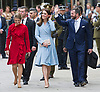 11.05.2017; Luxembourg: KATE MIDDLETON, CROWN PRINCESS STEPHANIE AND CROWN PRINCE GUILLAUME OF LUXEMBOURG leave the Grand Ducal Palace.<br />Mandatory Photo Credit: &copy;Francis Dias/NEWSPIX INTERNATIONAL<br /><br />IMMEDIATE CONFIRMATION OF USAGE REQUIRED:<br />Newspix International, 31 Chinnery Hill, Bishop's Stortford, ENGLAND CM23 3PS<br />Tel:+441279 324672  ; Fax: +441279656877<br />Mobile:  07775681153<br />e-mail: info@newspixinternational.co.uk<br />Usage Implies Acceptance of OUr Terms &amp; Conditions<br />Please refer to usage terms. All Fees Payable To Newspix International