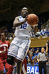 17 November 2013: Duke's Chelsea Gray. The Duke University Blue Devils played the University of Alabama Crimson Tide at Cameron Indoor Stadium in Durham, North Carolina in a 2013-14 NCAA Division I Women's Basketball game. Duke won the game 92-57.