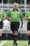 07 September 2014: Fourth official Brian Saucedo. The Duke University Blue Devils hosted the Penn State University Nittany Lions at Koskinen Stadium in Durham, North Carolina in a 2014 NCAA Division I Women's Soccer match. PSU won the game 4-3.