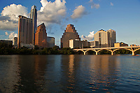 The Austin Cityscape is provides a scenic view of downtown Austin, Texas