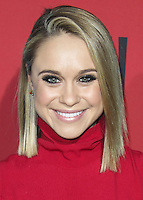 HOLLYWOOD, LOS ANGELES, CA, USA - OCTOBER 05: Becca Tobin arrives at the Los Angeles Premiere Screening Of FX's 'American Horror Story: Freak Show' held at the TCL Chinese Theatre on October 5, 2014 in Hollywood, Los Angeles, California, United States. (Photo by Celebrity Monitor)