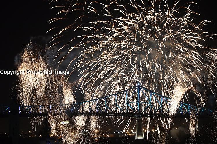 Celebrations du  375 ieme de Montreal, le 17 mai 2017.<br /> <br /> HAND OUT PHOTO  Via  Agence Quebec Presse