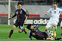 (L-R) Jungo Fujimoto, Chikashi Masuda (JPN), Thorarinn Ingi Valdimarsson (ISL),.FEBRUARY 24, 2012 - Football / Soccer :.Kirin Challenge Cup 2012 match between Japan 3-1 Iceland at Nagai Stadium in Osaka, Japan. (Photo by Takamoto Tokuhara/AFLO)