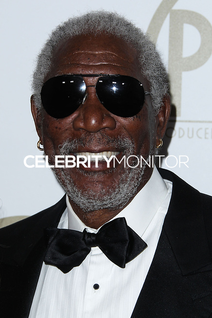 BEVERLY HILLS, CA - JANUARY 19: Morgan Freeman at the 25th Annual Producers Guild Awards held at The Beverly Hilton Hotel on January 19, 2014 in Beverly Hills, California. (Photo by Xavier Collin/Celebrity Monitor)