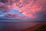 after the storm, lake superior, Upper Peninsula of Michigan