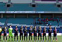 Japan team group line-up (JPN), MARCH 7, 2012 - Football / Soccer :  Algarve Women's Football Cup 2012 final match between Germany 4-3 Japan at Algarve Stadium, Faro, Portugal. (Photo by AFLO) [2268]