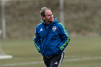 Toronto, ON, Canada - Thursday Dec. 08, 2016: Brian Schmetzer during training prior to MLS Cup at the Kia Training Grounds.