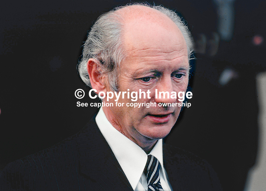 Jack Lynch, An Taoiseach, Prime Minister, Fianna Fail, Rep of Ireland, 195/77, 197707000195.<br />