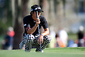 Ryo Ishikawa (JPN),.MARCH 23, 2012 - Golf :.Ryo Ishikawa of Japan lines up during the second round of the Arnold Palmer Invitational at Arnold Palmer's Bay Hill Club and Lodge in Orlando, Florida. (Photo by Thomas Anderson/AFLO)(JAPANESE NEWSPAPER OUT)