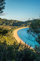 Totaranui beach on Abel Tasman Coast Track, Abel Tasman National Park, Nelson Region, South Island, New Zealand