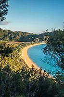 Totaranui beach on Abel Tasman Coast Track, Abel Tasman National Park, Nelson Region, South Island, New Zealand