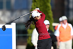 17 April 2016: Boston College's Katie Kim. The Second Round of the Atlantic Coast Conference's Women's Golf Championship was held at Sedgefield Country Club in Greensboro, North Carolina.