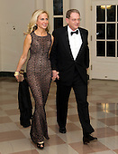 Tom A. Bernstein, President and co-founder of Chelsea Piers, L.P., and Andrea Bernstein arrive for the Official Dinner in honor of Prime Minister David Cameron of Great Britain and his wife, Samantha, at the White House in Washington, D.C. on Tuesday, March 14, 2012.  The Bernsteins are two of United States President Barack Obama's biggest campaign fundraisers..Credit: Ron Sachs / CNP.(RESTRICTION: NO New York or New Jersey Newspapers or newspapers within a 75 mile radius of New York City)