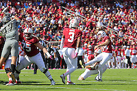 STANFORD, CA - October 22, 2016: Stanford falls 10-5 to Colorado at Stanford Stadium.