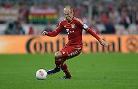 FUSSBALL  DFB-POKAL  HALBFINALE  SAISON 2012/2013    FC Bayern Muenchen - VfL Wolfsburg            16.04.2013 Arjen Robben (FC Bayern Muenchen) Einzelaktion am Ball