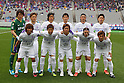 Sanfrecce Hiroshima team group line-up, .MARCH 31, 2012 - Football /Soccer : .2012 J.LEAGUE Division 1 .between F.C. Tokyo 0-1 Sanfrecce Hiroshima .at Ajinomoto Stadium, Tokyo, Japan. .(Photo by YUTAKA/AFLO SPORT) [1040]