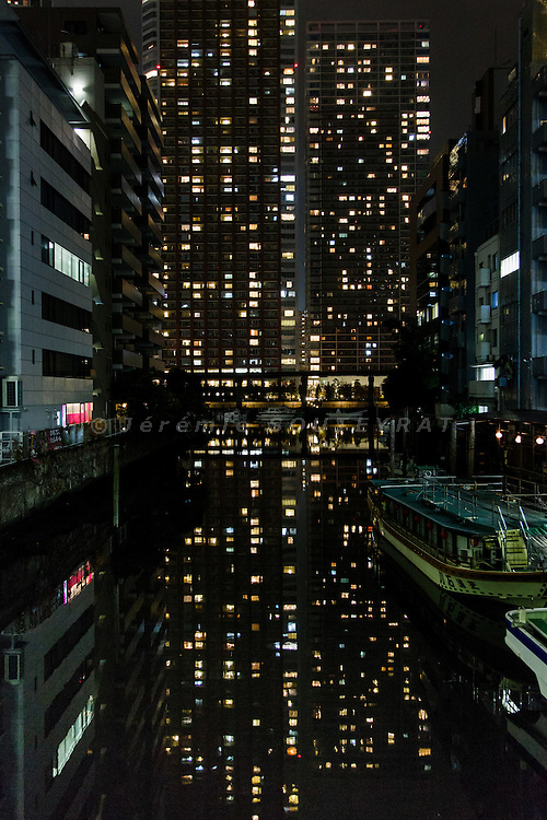 Tokyo, November 2013 - Building on a reclaimed land