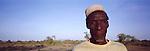 Matteo, a Turkana elder in  Northern Turkana, Kenya