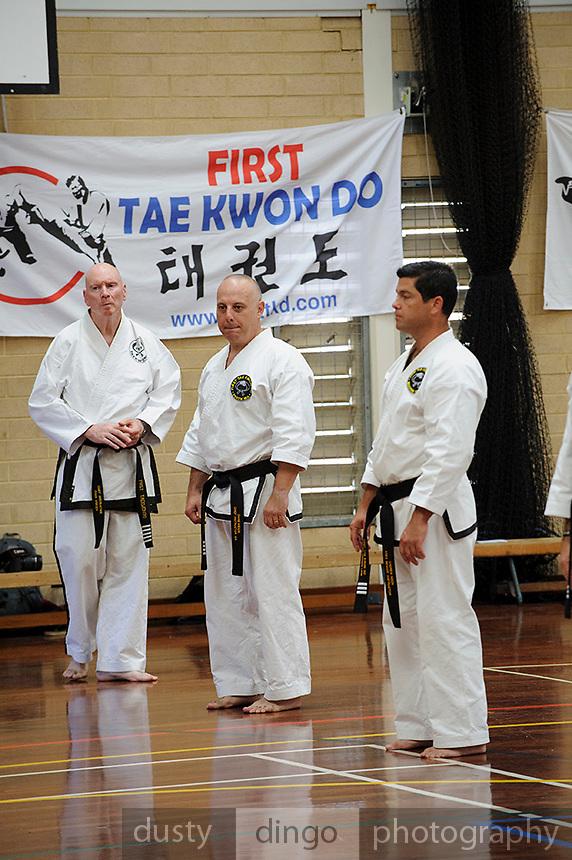 The inaugural First Tae Kwan Do grading in Perth, Western Australia.