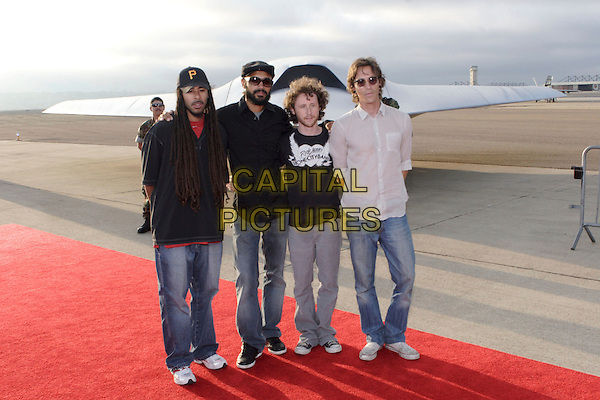 """INCUBUS.World Film Premiere of Columbia Pictures' """"Stealth"""" .held at the Naval Air Station North Island (NASNI), Coronado, California, USA,17 July 2005..full length band.Ref: ADM.www.capitalpictures.com.sales@capitalpictures.com.©Zach Lipp /AdMedia/Capital Pictures."""