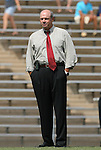 30 August 2009: UNC assistant coach Bill Palladino. The University of North Carolina Tar Heels defeated the University of North Carolina Greensboro Spartans 1-0 at Fetzer Field in Chapel Hill, North Carolina in an NCAA Division I Women's college soccer game.