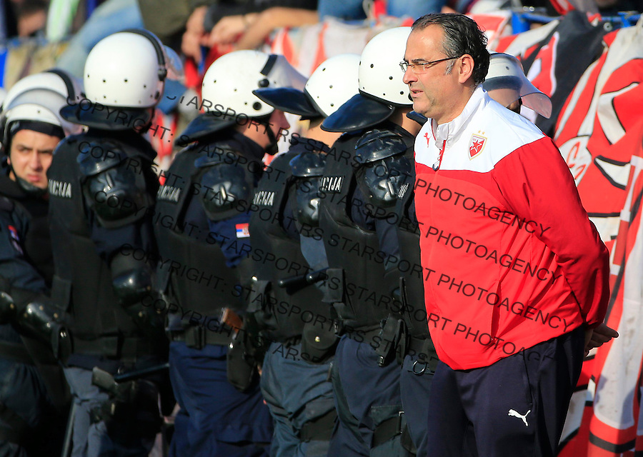 Fudbal Kup Srbije season 2015-2016<br /> Backa v Crvena Zvezda<br /> head coach Miodrag Bozovic<br /> Backa Palanka, 28.10.2015.<br /> foto: Srdjan Stevanovic/Starsportphoto&copy;