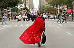 New York, United States, October 01 2011. Korean Day Parade.in New York  VIEWpress / Kena Betancur.Korean Day Parade which is celebrating its 30th anniversary, is organized by the Korean American Association of Greater New York (KAAGNY).Local Media Report