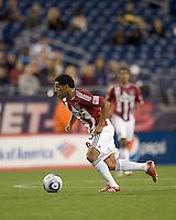 Second half substitute Chivas USA forward/midfielder Jose Macotelo (15). Chivas USA defeated the New England Revolution, 4-0, at Gillette Stadium on May 5, 2010.