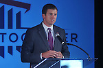 UMAA Foundation executive director Danny White speaks about  a $150 million capital improvement campaign to build a new basketball arena and expand Vaught-Hemingway Stadium in Oxford, Miss. on Tuesday, August 9, 2011.