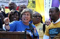150916 NAACP Rally Weingarten
