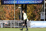 10 November 2010: Maryland's Zac MacMath. The University of Maryland Terrapins defeated the Clemson University Tigers 2-1 at Koka Booth Stadium at WakeMed Soccer Park in Cary, North Carolina in an ACC Men's Soccer Tournament Quarterfinal game.