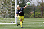21 August 2009: LA's Val Henderson. The Los Angeles Sol held a training session at the Home Depot Center in Carson, California one day before playing Sky Blue FC in the inaugural Women's Professional Soccer Championship Game.