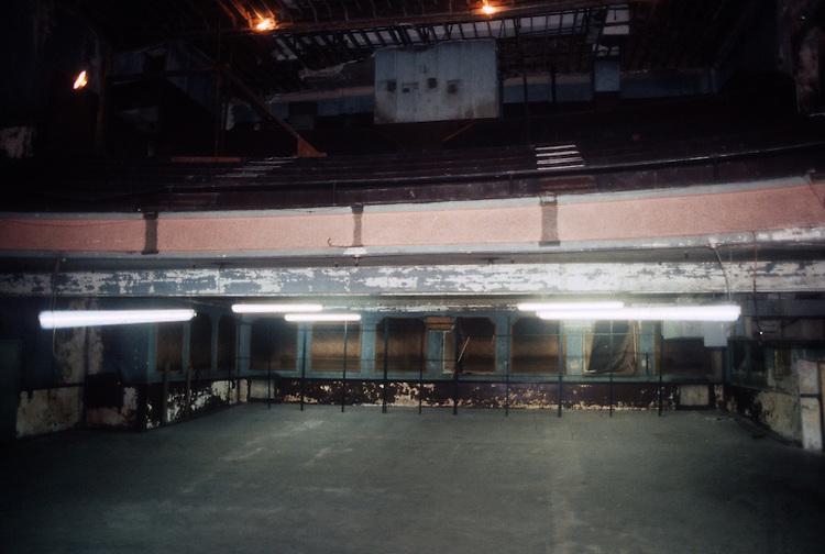 1993 February ..Rehabilitation..Attucks Theatre.Church Street..THEATRE.FROM STAGE LOOKING AT ORCHESTRA & BALCONY.INTERIOR...NEG#.NRHA#..