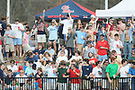 Ole Miss students cheer vs. Wright State at Oxford University Stadium in Oxford, Miss. on Saturday, February 19, 2011.