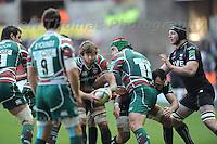 Liberty stadium, Swansea, Wales. Sunday 13th January 2013. Ospreys v Leicester Tigers Heineken Cup pool 2 rugby. Mandatory credit to Jeff Thomas Photography-www.jaypics.photoshelter.com-07837 386244