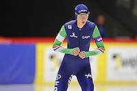 SPEED SKATING: INZELL: 04-12-2015, Max Aicher Arena, ISU World Cup, 500m Ladies, Margot Boer (NED), ©foto Martin de Jong