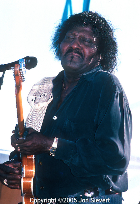 Albert Collins, Sept 1992