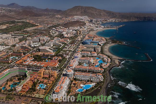 PLAYA DE LAS AMERICAS-TENERIFE SUR-ISLAS CANARIAS. 2008-03-11. (C) Pedro ARMESTRE