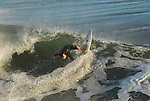 Surfing Steamer Lane