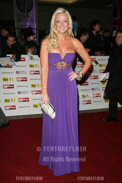 Michelle Mone arriving for the 2010 Pride Of Britain Awards, at the Grosvenor House Hotel, London. 08/11/2010  Picture by: Alexandra Glen / Featureflash