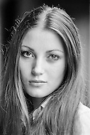 November 1972, New Orleans, Louisiana, USA --- British actress Jane Seymour is starring in Guy Hamilton's film Live and Let Die, based on Ian Fleming's novel. --- Image by © JP Laffont