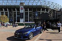 A general view outside the Mercedes Benz stand. The Clash, Aviva Premiership match, between Bath Rugby and Leicester Tigers on April 8, 2017 at Twickenham Stadium in London, England. Photo by: Rob Munro / Onside Images