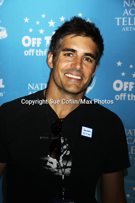 Days of Our Lives Galen Gering in the gifting suite at the 38th Annual Daytime Entertainment Emmy Awards 2011 held on June 19, 2011 at the Las Vegas Hilton, Las Vegas, Nevada. (Photo by Sue Coflin/Max Photos)