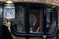 The Queen &amp; the Turkish President - 2011<br /> <br /> London, 22/11/2011. State Visit in the United Kingdom for the President of the Republic of Turkey   Abdullah G&uuml;l and his wife Hayr&uuml;nnisa &Ouml;zyurt, as guests of Her Majesty the Queen. A limousine carries Her Majesty the Queen and Prince Phillip down the mall to meet their Turkish guests at Horse Parade. Later, the guests are escorted in Royal carriages up the mall to Buckingham Palace.